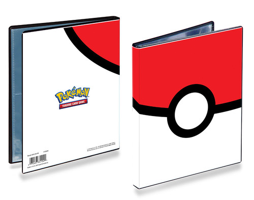Pokemon 4 Pocket Portfolio - Pokeball