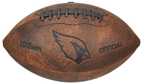 Arizona Cardinals Football - Vintage Throwback - 9 Inches