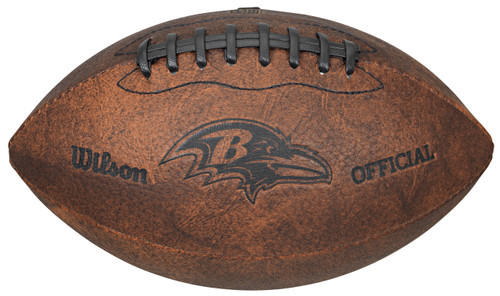 Baltimore Ravens Football - Vintage Throwback - 9 Inches