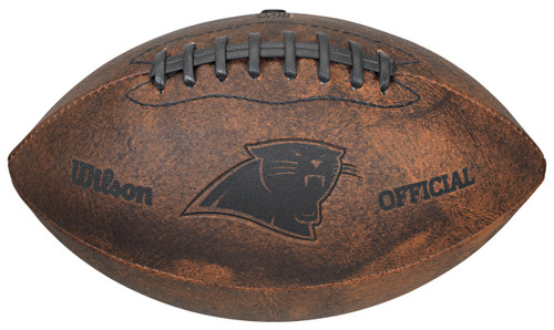 Carolina Panthers Football - Vintage Throwback - 9 Inches