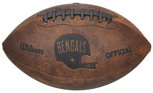 Cincinnati Bengals Football - Vintage Throwback - 9 Inches
