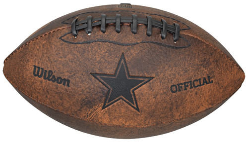 Dallas Cowboys Football - Vintage Throwback - 9 Inches