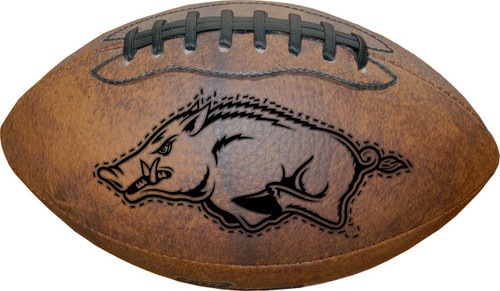 Arkansas Razorbacks Football - Vintage Throwback - 9 Inches