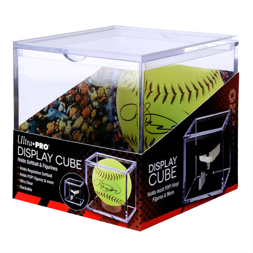 Display Cube - Softball/POP!