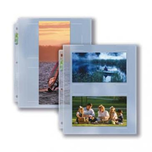 3-Hole APS Photo Page  (Case of 300)
