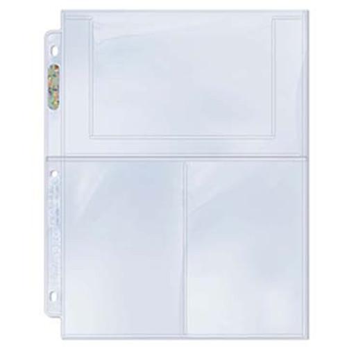 Ultra Pro Page 3-Pocket 4x6 - Bulk