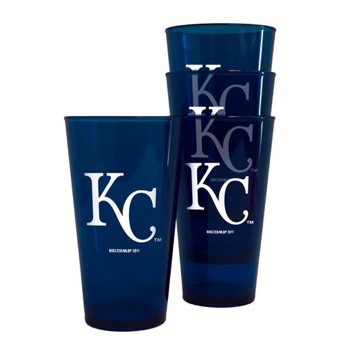 Kansas City Royals Plastic Pint Glass Set