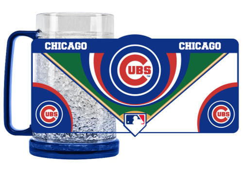 Chicago Cubs Mug Crystal Freezer Style