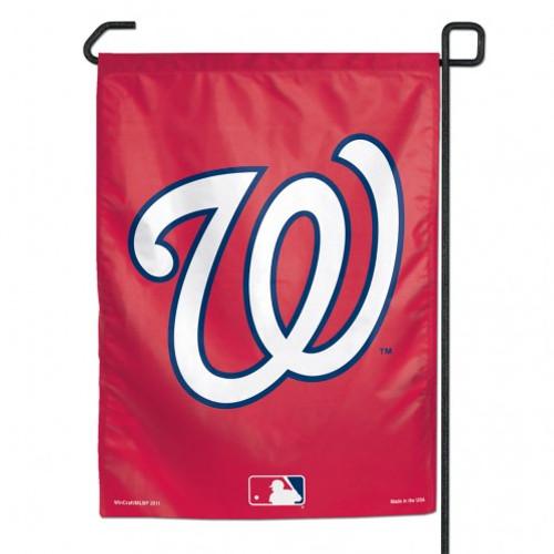 Washington Nationals Flag 12x18 Garden Style 2 Sided