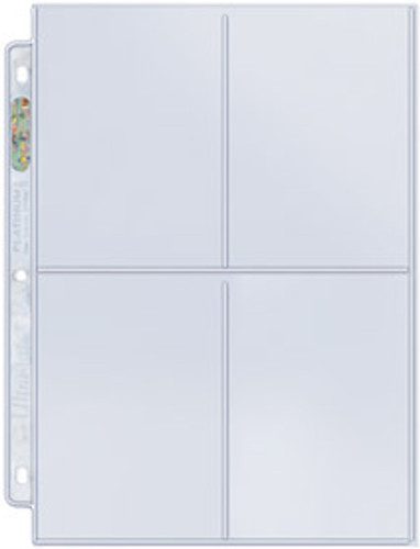 Ultra Pro 4-Pocket Pages - 204D (100ct)