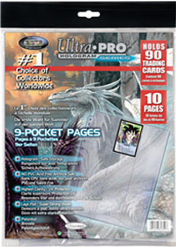 Ultra Pro 9-Pocket Page (10ct)