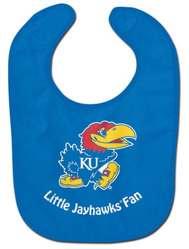 Kansas Jayhawks Baby Bib - All Pro Little Fan