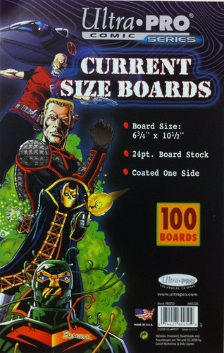 "Boards - Current 6 3/4"" x 10 1/2"" 100pk"