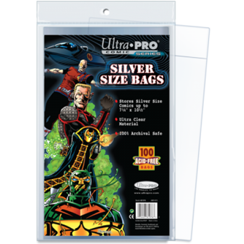 Comic Bags - Silver Size (100 pk)