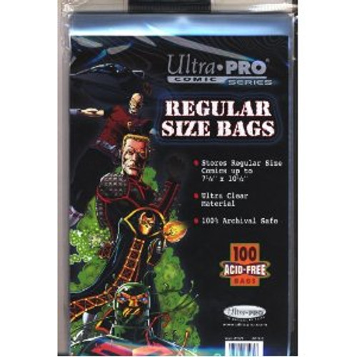 Comic Bags - Regular Size (100 pk)