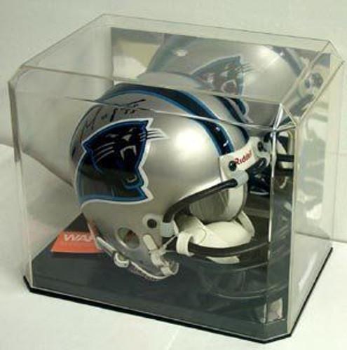 Mini Helmet Display with Mirrored Back