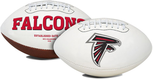 Atlanta Falcons Football Full Size Embroidered Signature Series