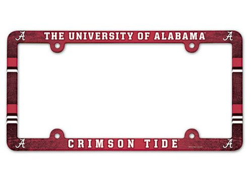 Alabama Crimson Tide License Plate Frame - Full Color