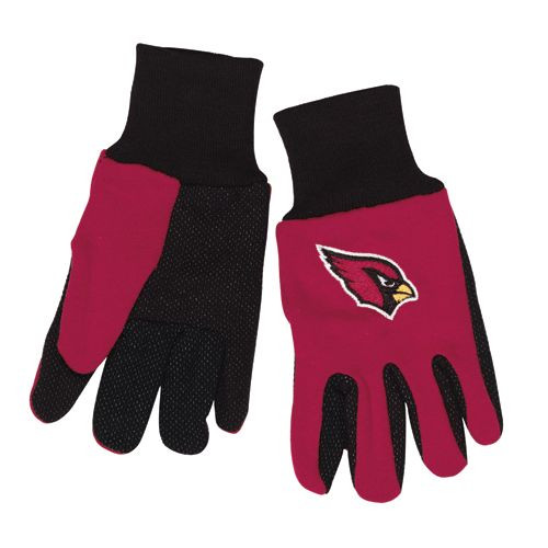 Arizona Cardinals Two Tone Youth Size Gloves