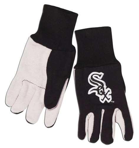 Chicago White Sox Two Tone Gloves - Youth Size