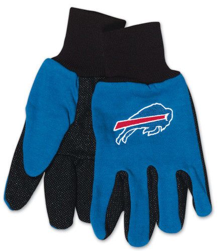 Buffalo Bills Two Tone Youth Size Gloves