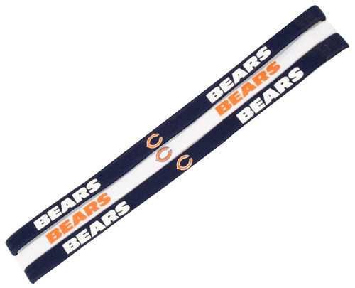 Chicago Bears Elastic Headbands