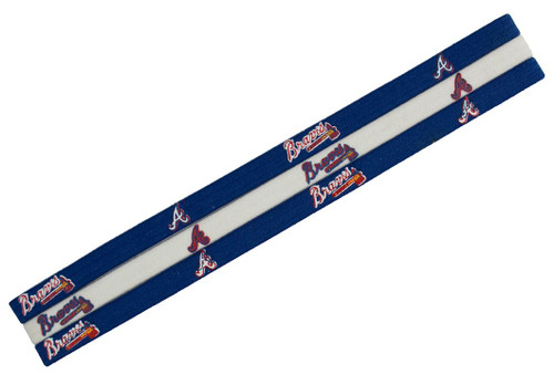 Atlanta Braves Elastic Headbands