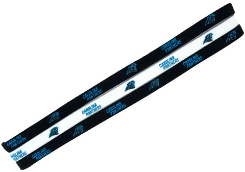 Carolina Panthers Elastic Headbands