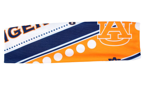 Auburn Tigers Stretch Patterned Headband