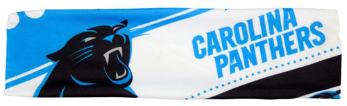Carolina Panthers Stretch Patterned Headband