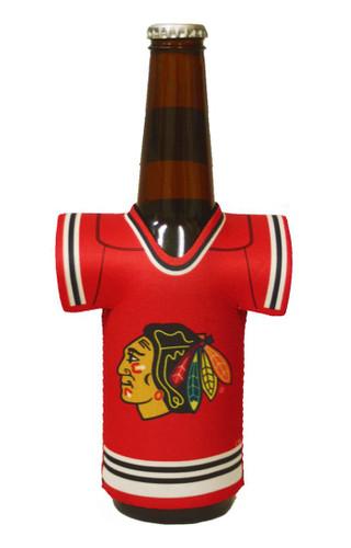 Chicago Blackhawks Bottle Jersey Holder