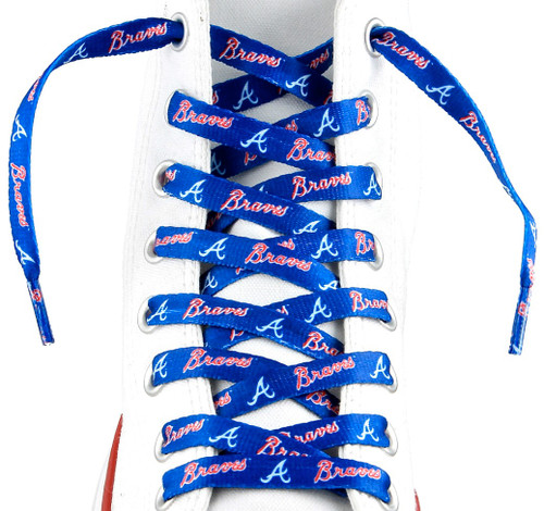 Atlanta Braves Shoe Laces - 54""