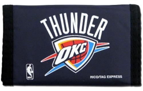 Oklahoma City Thunder Nylon Trifold Wallet