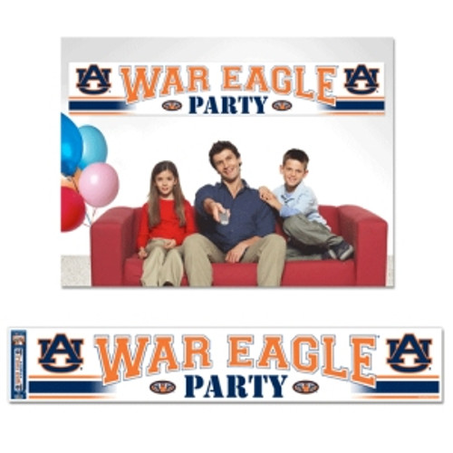 Auburn Tigers Banner Party