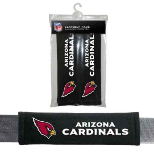 Arizona Cardinals Velour Seat Belt Pads