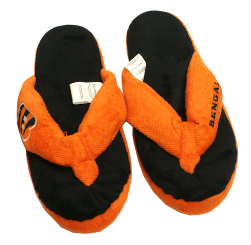 Cincinnati Bengals Slippers - Womens Thong Flip Flop (12 pc case)