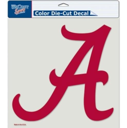 Alabama Crimson Tide Decal 8x8 Die Cut Color