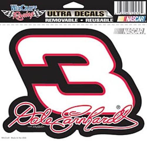 Dale Earnhardt Decal 5x6 Ultra