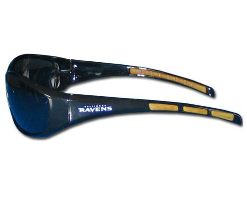 Baltimore Ravens Sunglasses - Wrap