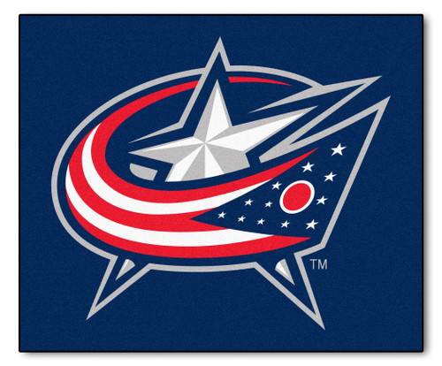 Columbus Blue Jackets Area Mat Tailgater