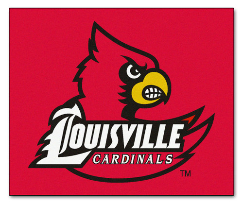 Louisville Cardinals Area Rug - Tailgater