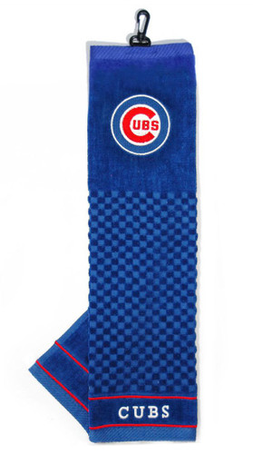 """Chicago Cubs 16""""x22"""" Embroidered Golf Towel"""