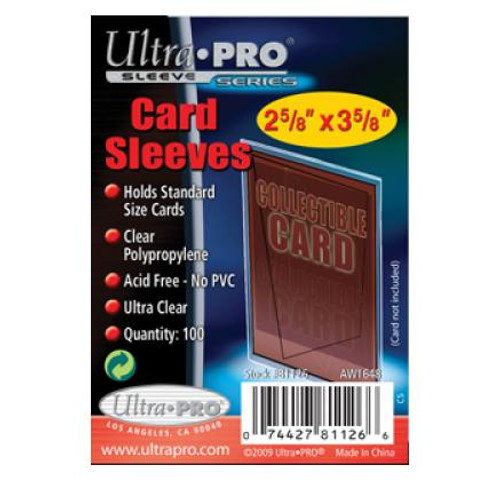 Ultra Pro Card Sleeves -100pk