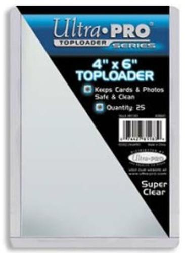 """Top Loader - 4""""x6"""" (25 per pack)"""