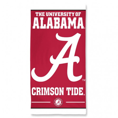 Alabama Crimson Tide Beach Towel