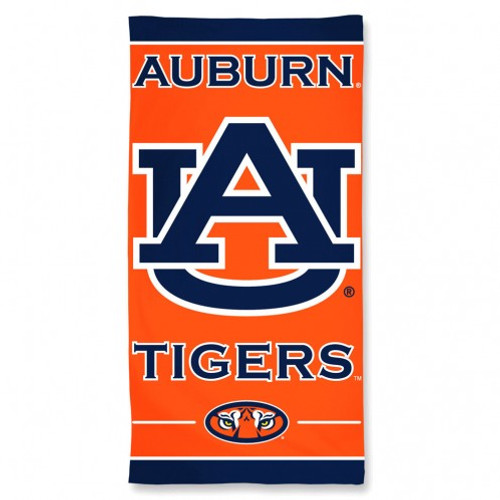 Auburn Tigers Beach Towel
