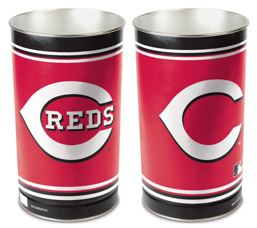 "Cincinnati Reds 15"" Waste Basket"