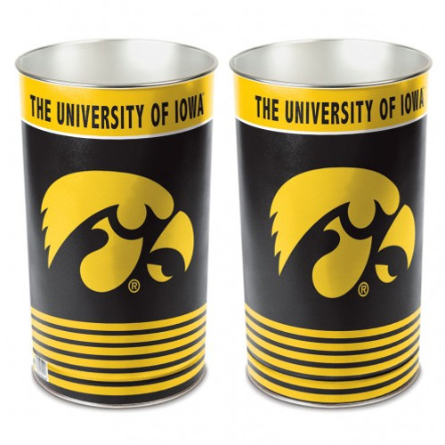 "Iowa Hawkeyes 15"" Waste Basket"