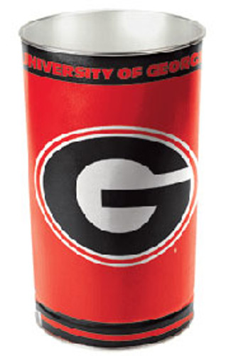 "Georgia Bulldogs 15"" Waste Basket"