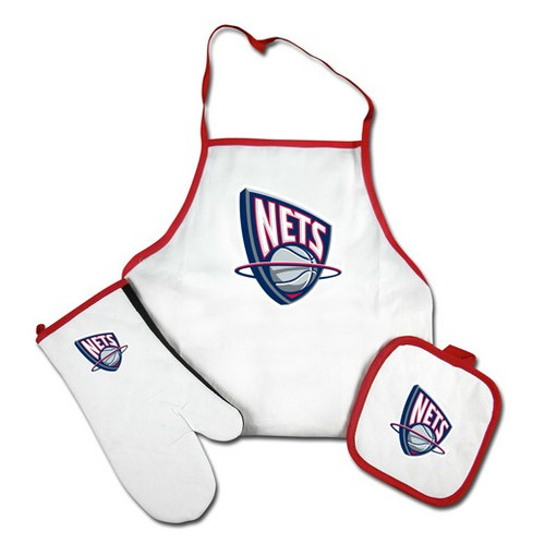 New Jersey Nets Grilling Apron Set